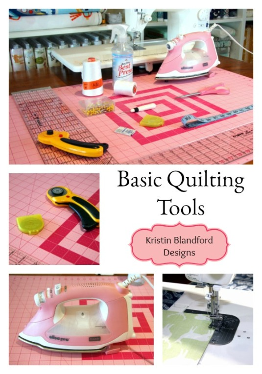 Basic Quilting Tools